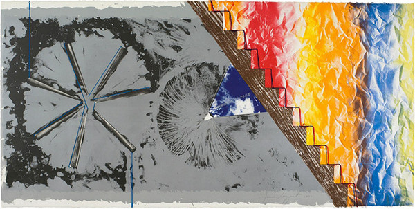 DERRIERE L'ETOILE BY JAMES ROSENQUIST