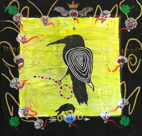 BLACK RAVEN BY MICHAEL HOUGHTON