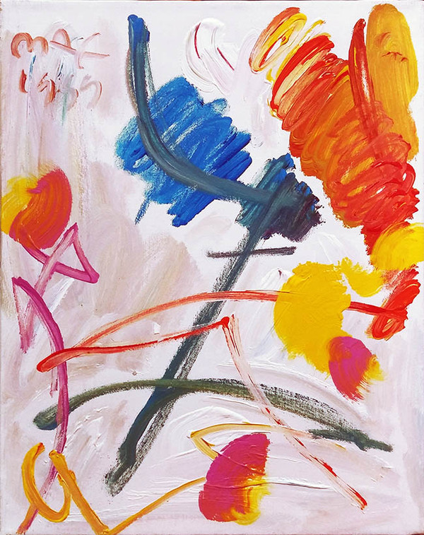 SPRING (ABSTRACT) BY PETER MAX