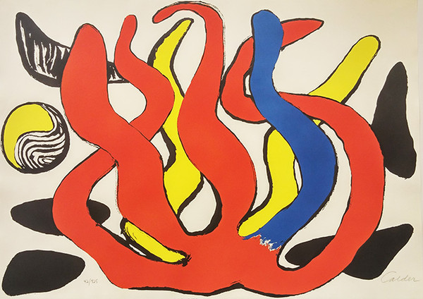 UNTITLED I BY ALEXANDER CALDER