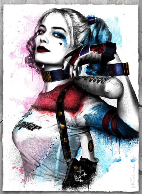 HARLEY QUINN (SUICIDE SQUAD) BY MR. BRAINWASH