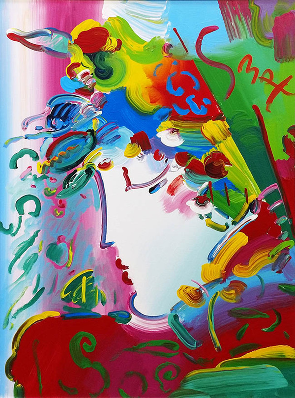 BLUSHING BEAUTY X BY PETER MAX