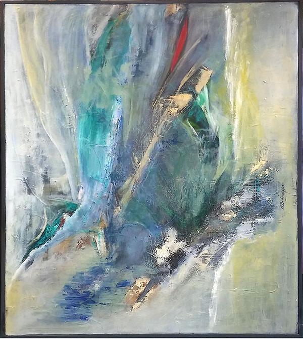 ABSTRACT II BY EVA BECHINSKY