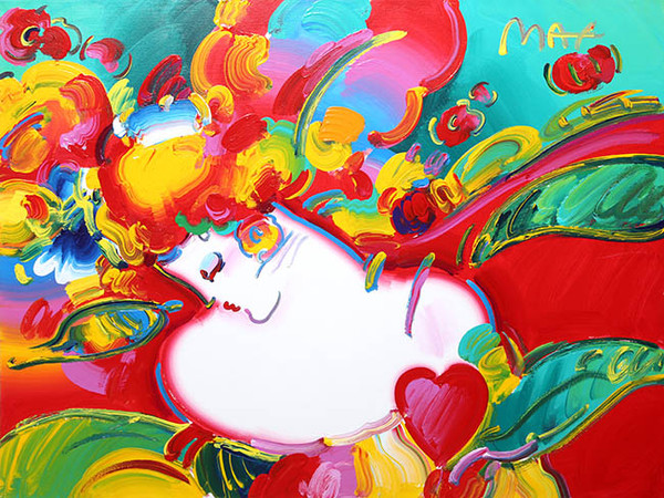 BLUSHING BEAUTY BY PETER MAX