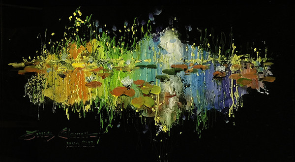 REFLECTION MONET BY JAMES COLEMAN