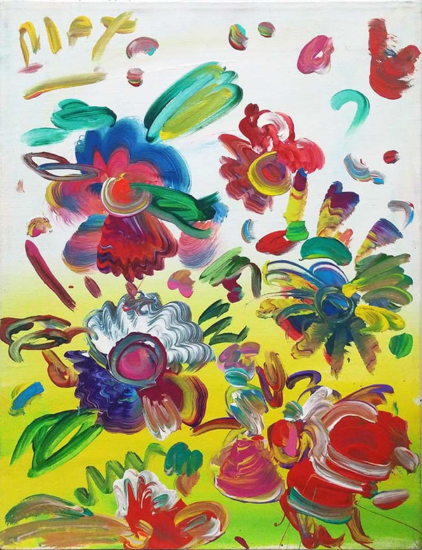 SPRING (FLOWERS) BY PETER MAX