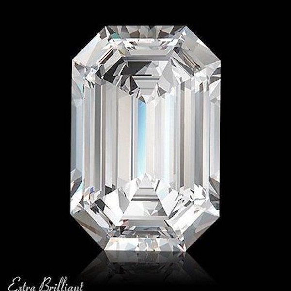 GIA Certified 1.51 Carat Emerald Diamond H Color VS2 Clarity Excellent Investment