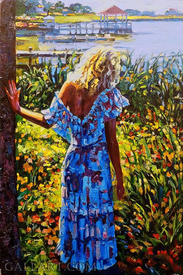 MY BELOVED - BY THE LAKE BY HOWARD BEHRENS