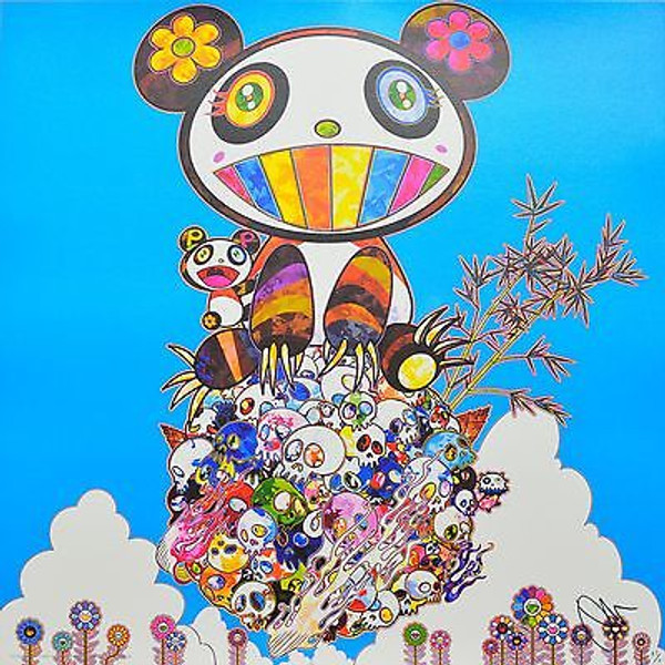 THE PANDAS SAY THEY'RE HAPPY BY TAKASHI MURAKAMI