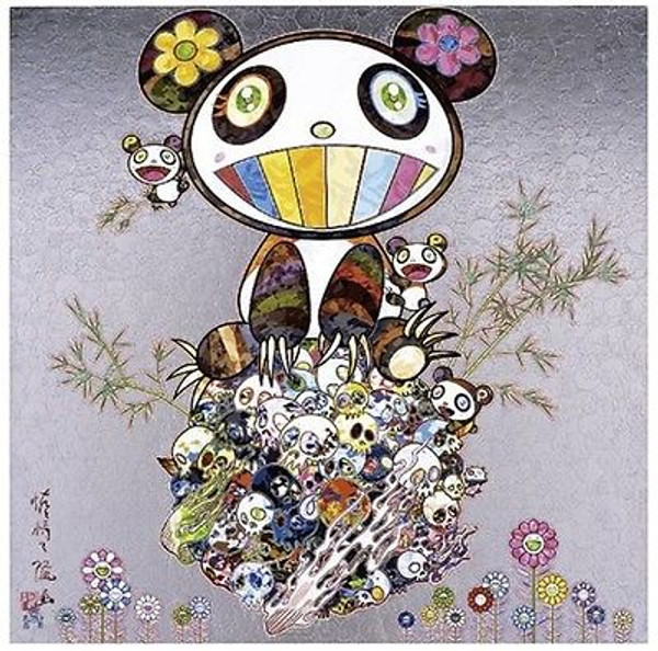 PANDA & PANDA CUBS/SKULLS  BY TAKASHI MURAKAMI