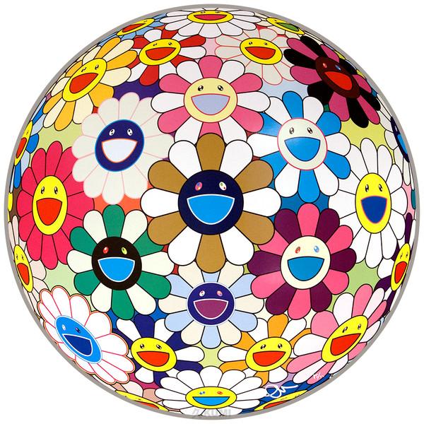 FLOWERBALL AUTUMN  BY TAKASHI MURAKAMI