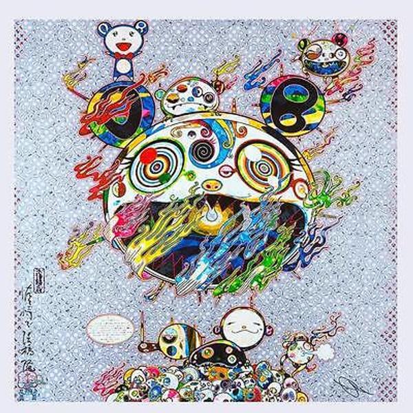 CHAOS PANDA BY TAKASHI MURAKAMI