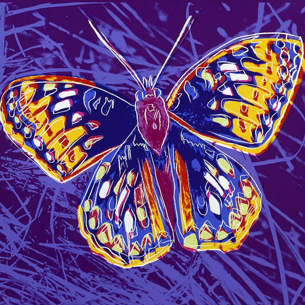 ENDANGERED SPECIES: SAN FRANCISCO SILVERSPOT FS II.298 (SIGNED) BY ANDY WARHOL
