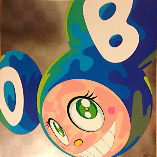 AND THEN MELTING DOB GREEN EYES  BY TAKASHI MURAKAMI