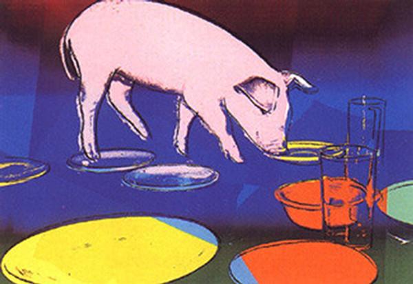 FIESTA PIG FS II. 184 BY ANDY WARHOL