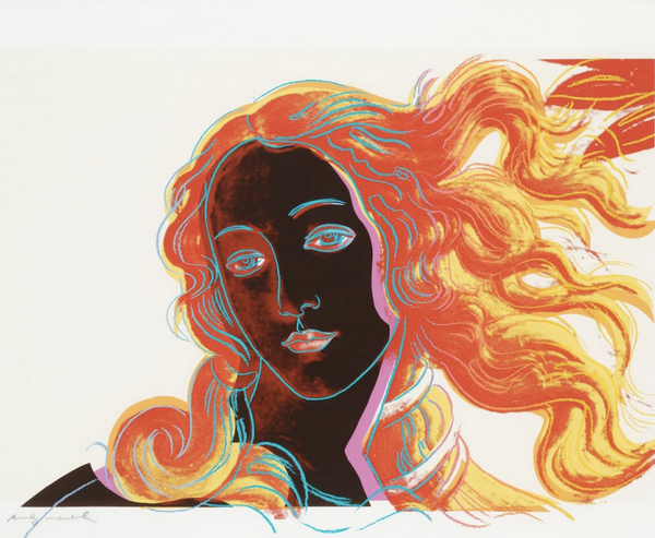 BIRTH OF VENUS FS II.318 BY ANDY WARHOL