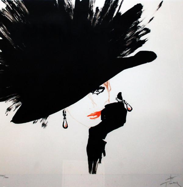 BLACK HAT BY RENE GRUAU