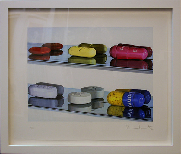 SIX PILLS BY DAMIEN HIRST
