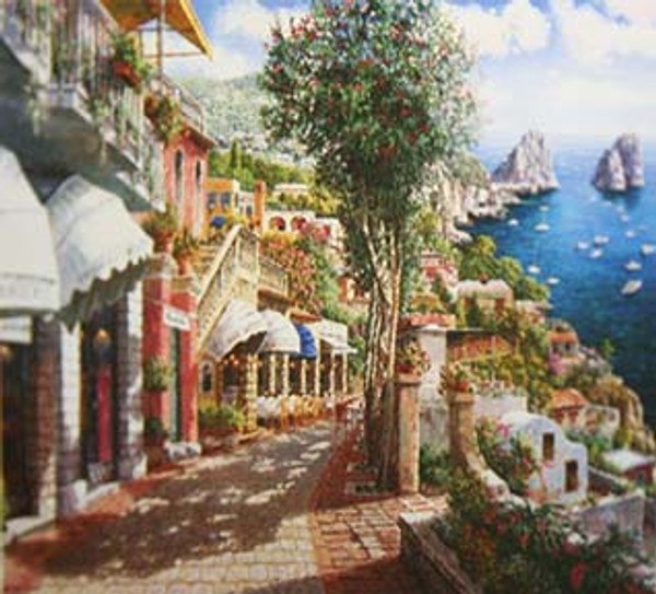 AFTERNOON IN CAPRI BY SAM PARK