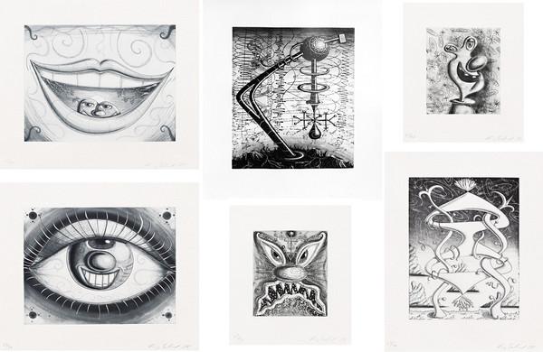 MOUTHAURA, SCAZ, HEDZ, LIGHTSCAPE, EYEZOWA, DARKSCAPE BY KENNY SCHARF