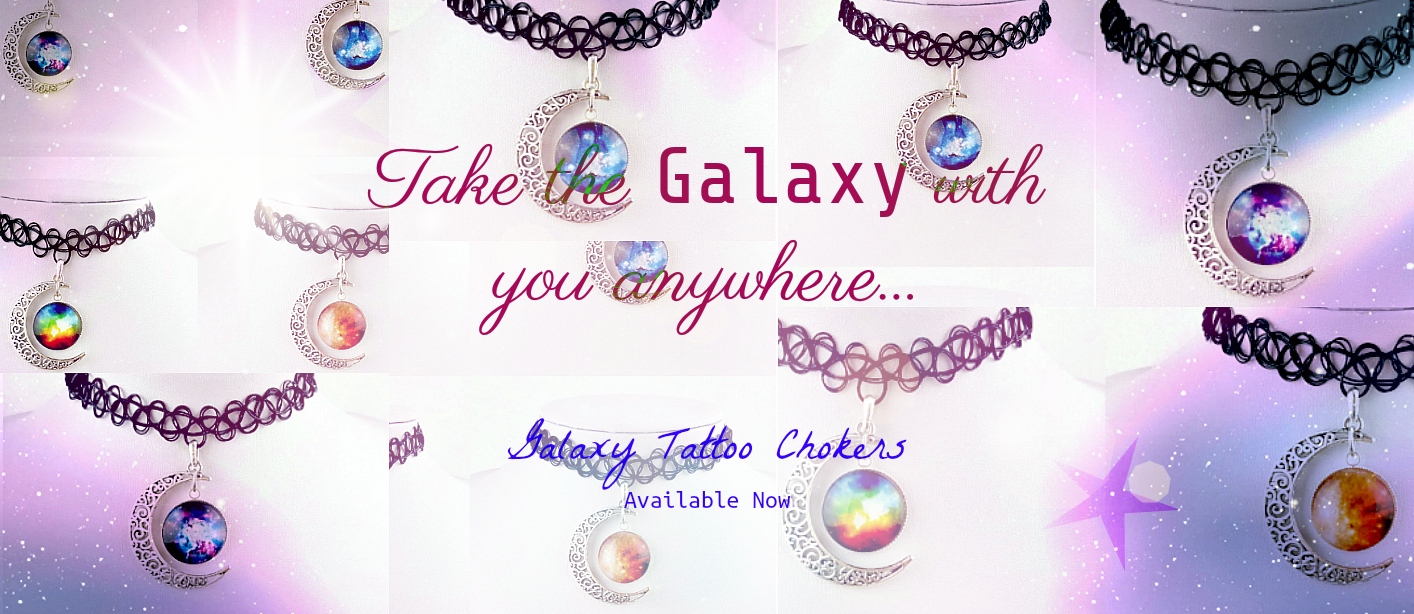 Galaxy Tattoo Necklace