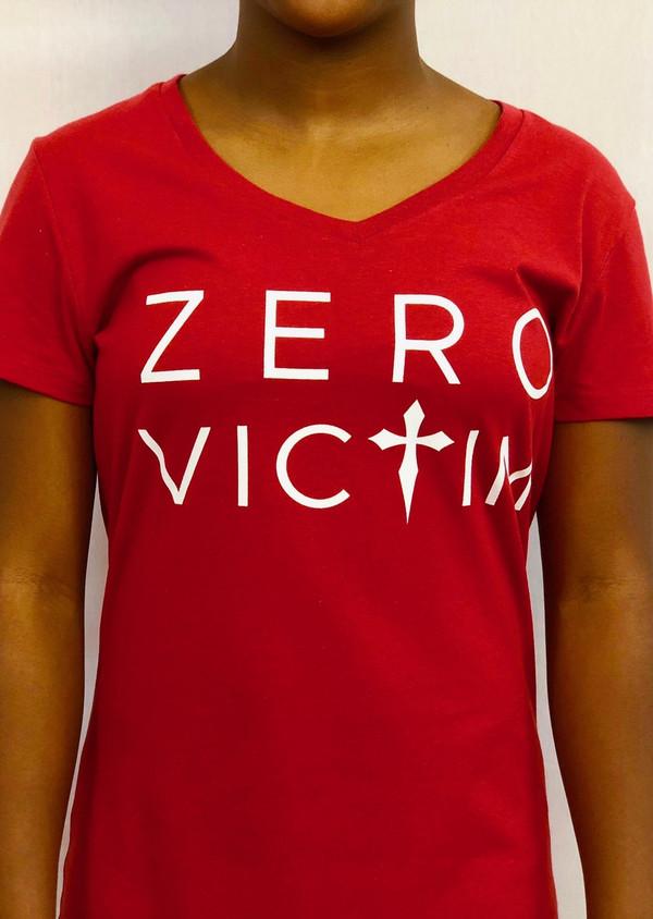 ZERO VICTIM WOMEN'S T-SHIRT