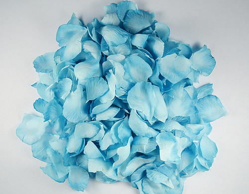 Turquoise wedding silk rose flower petals 12 packs cb for Cb flowers and crafts
