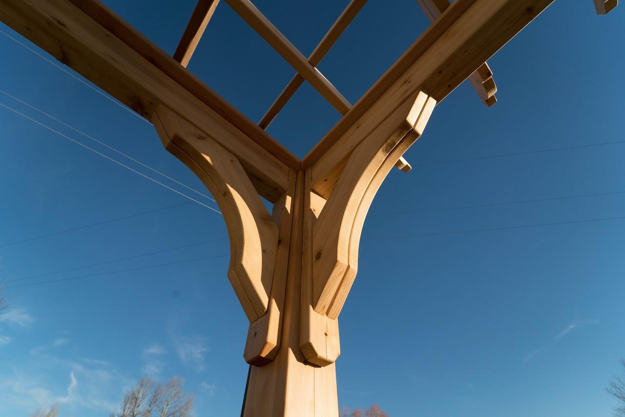 Serenity Pergola Kit 16' x 13.5' / Western Red Cedar /  Bozeman, MT.