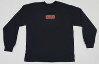 Vintage Logo Black Long Sleeve T-Shirt - Medium