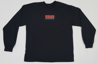 Vintage Logo Black Long Sleeve T-Shirt - Large