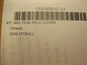 MALTESE CROSS CONTOUR AXLE CAP SET (2008-11 PITBULL)