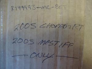 MALTESE CROSS AXLE CAP SET - 2005