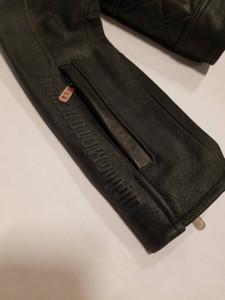Ladies Black Leather Riding Jacket - Extra Large