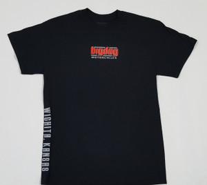 Big Dog Motorcycles V-Twin Black T-Shirt - Medium