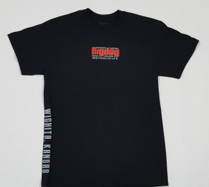 Big Dog Motorcycles V-Twin Black T-Shirt - Large
