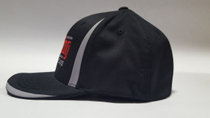 Black Embroidered Logo Hat (Flex Fit) Small / Medium