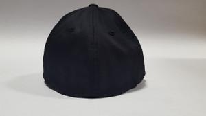 Black Embroidered Logo Hat (Flex Fit) Large / X-Large