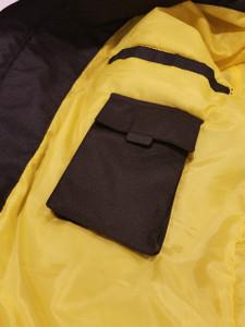 Men's Black Leather Riding Jacket - XXX-Large