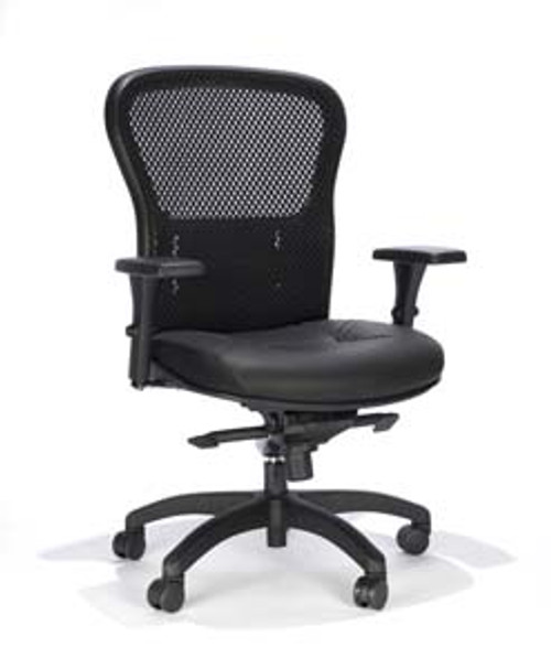 mesh ergonomic office chair mesh back leather seat 162 going