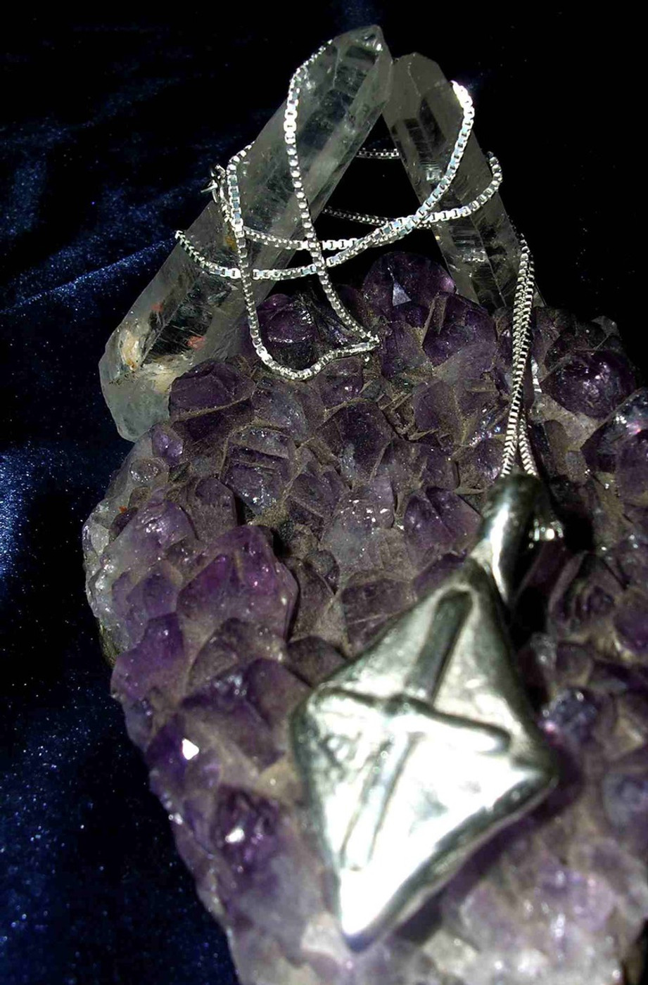 Magick Knights of The Round Table Magick Cross of Protection Pendant!