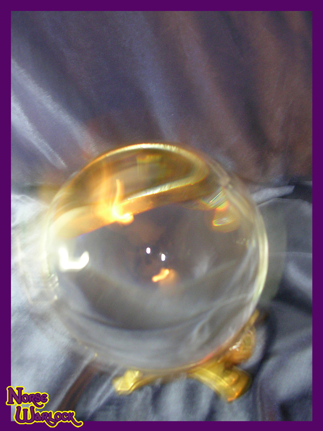 Psychic Knowledge Seeker Crystal Ball of Omnipotence! Clear Visions!