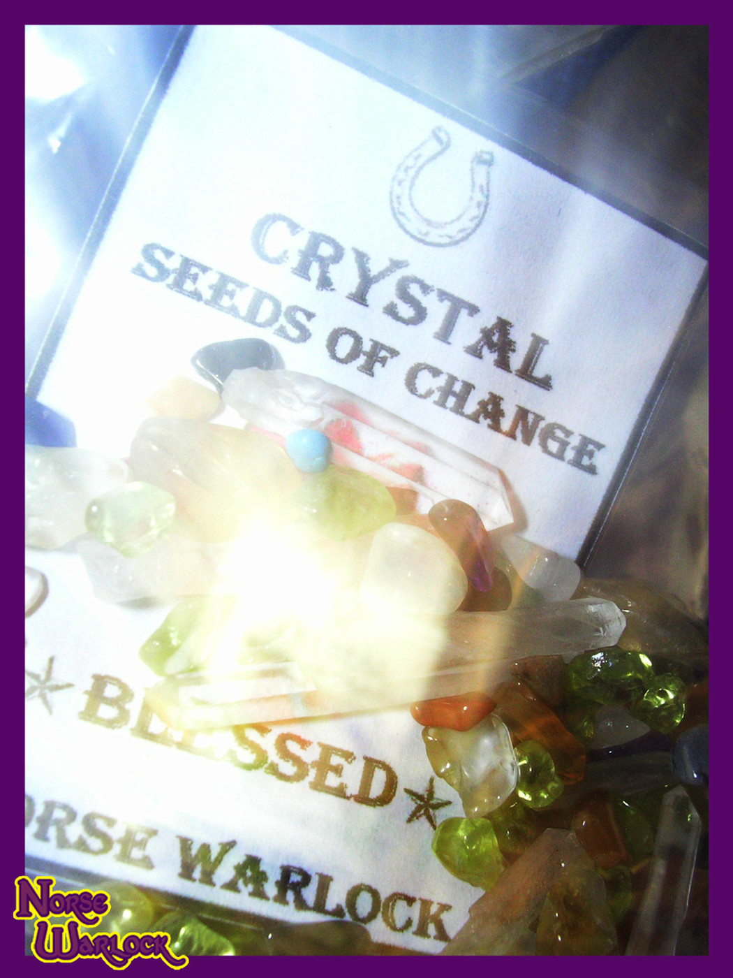 Enchanted Crystal Seeds of Change! Metaphysical Wishing Gemstones!