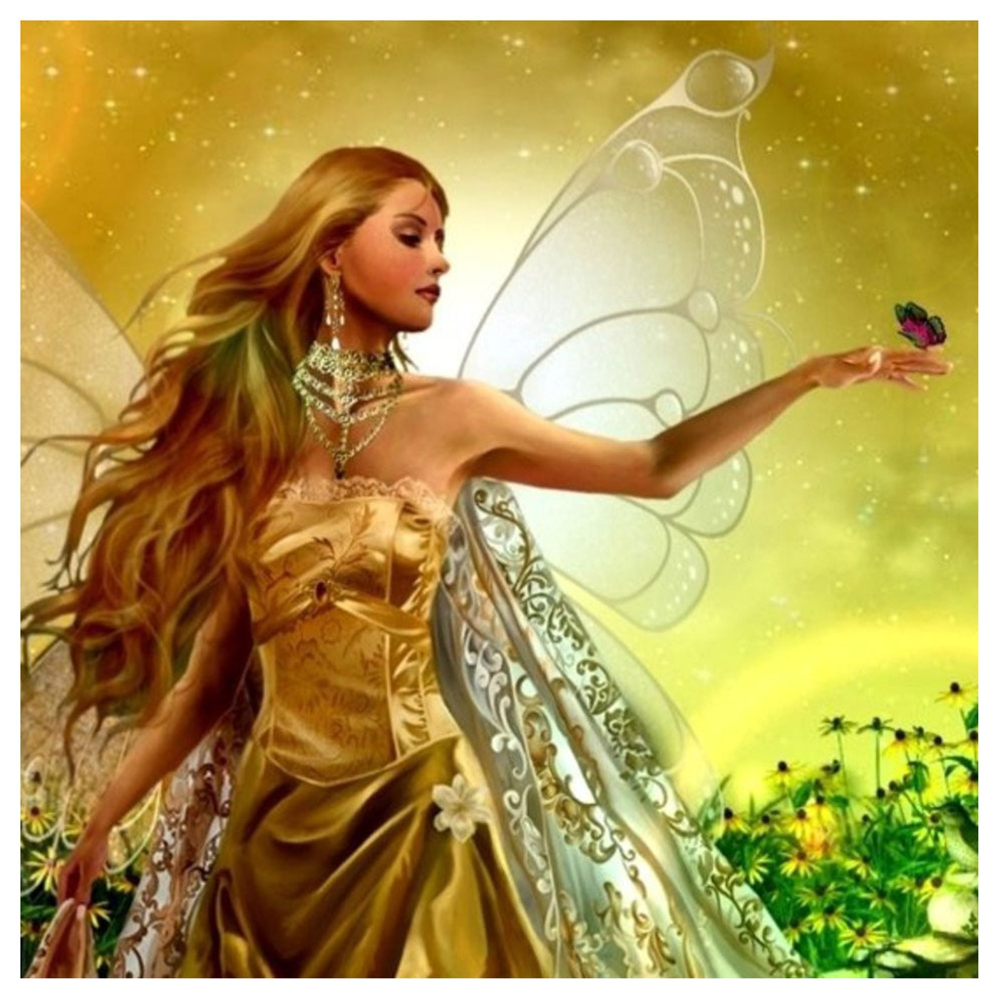 Fairy Wishing Spell! Summon Spirits of Light to Grant Your Wishes!