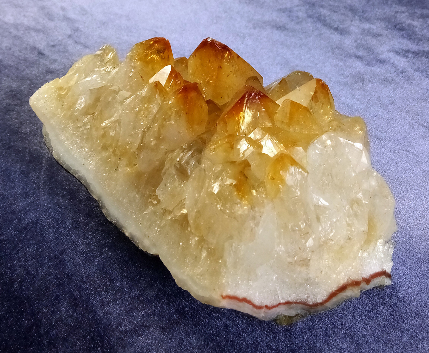 High-Quality Natural Citrine Crystals • Harness Positive Light Energy