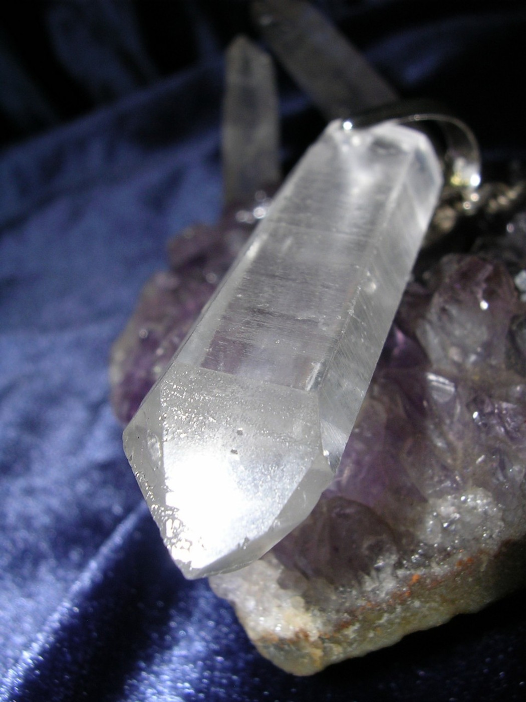 Aura Projection Crystal Clears Psychic Blocks Draws White Magick Energy!