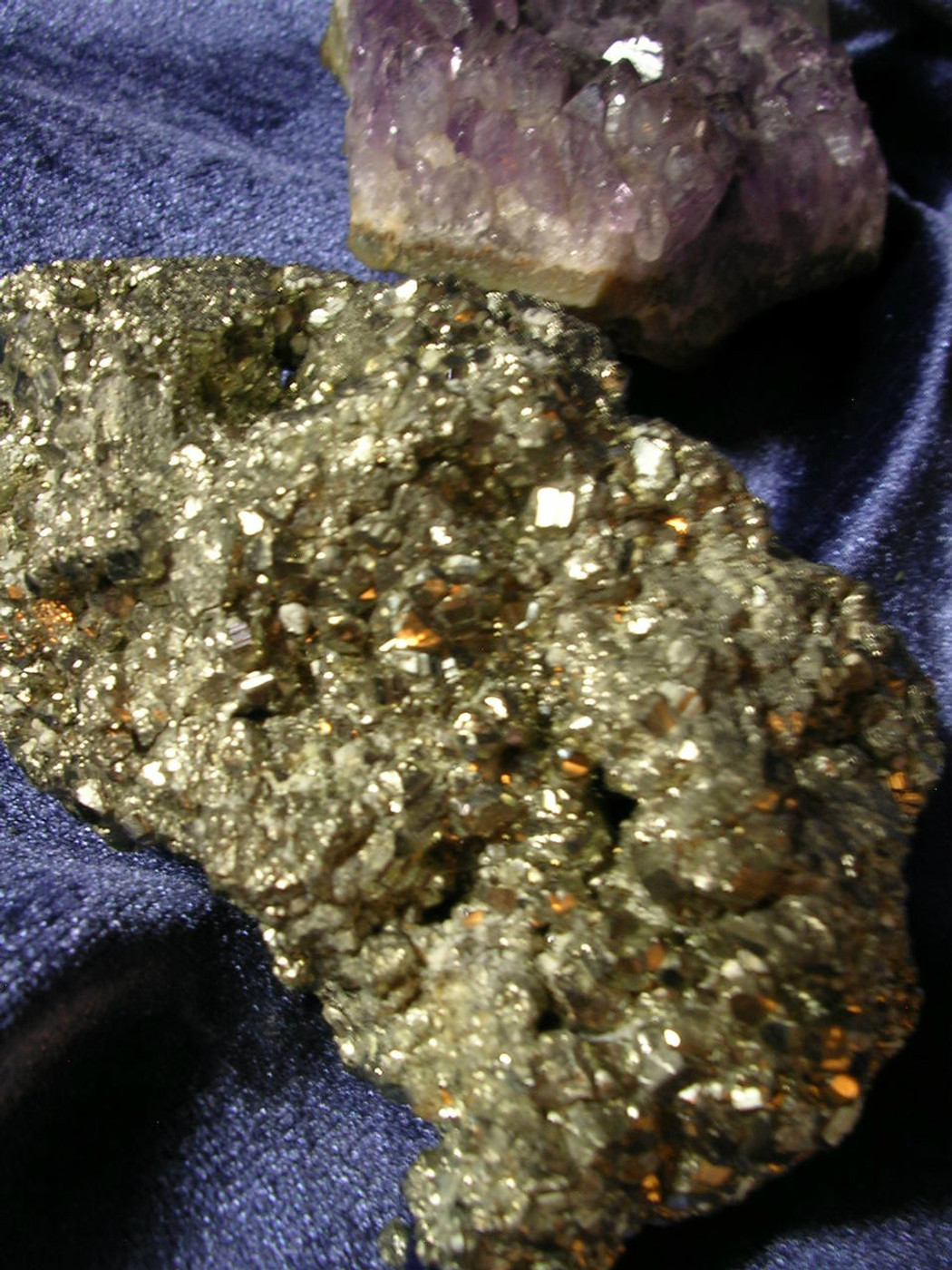 Pyrite Crystal ✦ High-Frequency Energy Enhances Life ✦ Wealth & Power