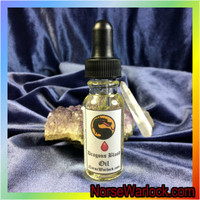 Dragon's Blood Spiritual Oil for Atral Travel Protection & Love Magick!