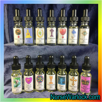 Angel Spiritual Oil Draws Guiding Spirts to Watch Over & Bless You!