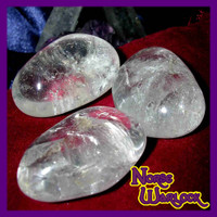 3 Metaphysical Crystal Quartz Radiate White Magick Bless Sacred Space!