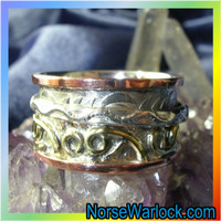 Enchanted Magick Spinning Ring Peace Harmony Balance Enlightenment
